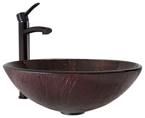 vigo vessel sink bathroom vanity vigo twilight glass vessel bathroom sink and milo