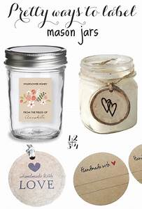 Mason jar labels for How to make sticker labels for jars