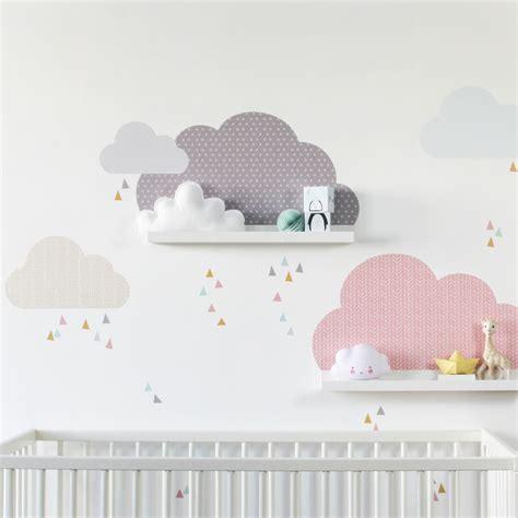 Babyzimmer Gestalten Rosa Grau by Wandtattoo Wolken Musta F 252 R Ikea Bilderleiste Farbe Rosa