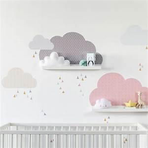 Kinderzimmer Deko Ikea : wolken kinderzimmer deko mit ikea bilderleisten serie ribba oder mosslanda mit stylischen ~ Buech-reservation.com Haus und Dekorationen
