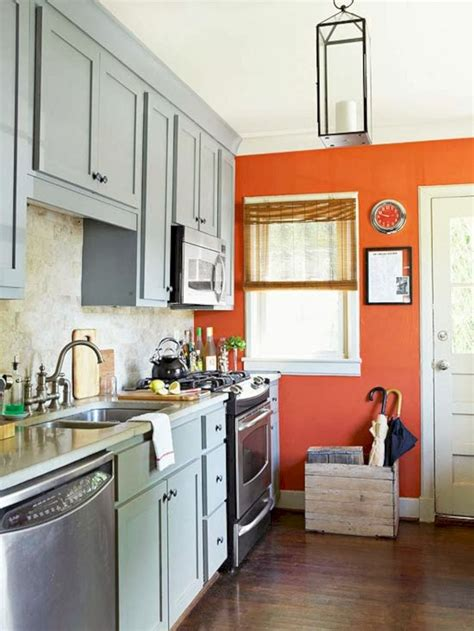 small kitchen accent wall colors small kitchen accent