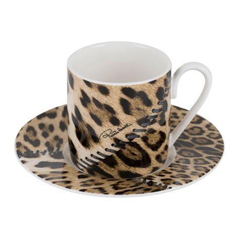 Coffee mugs coffee to water ratio. Buy Roberto Cavalli Africa Coffee Cups & Saucers - Set of 6   Amara