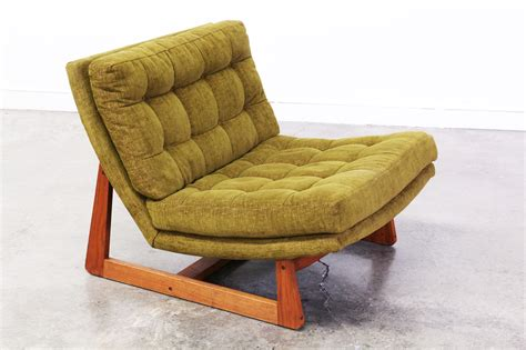 mid century slipper lounge chair vintage supply store