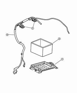 Chrysler Town  U0026 Country Terminal  Positive Battery Cable