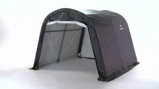 shelterlogic 10x10x8 portable storage shed 70435 on sale today