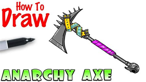 draw anarchy axe fortnite youtube