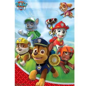 octonauts party supplies paw patrol treat bags this party started