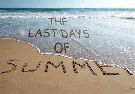 The Last Days of Summer - Community of Faith