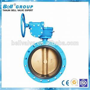 Dn150 Manual High Performance Butterfly Valve For Cement
