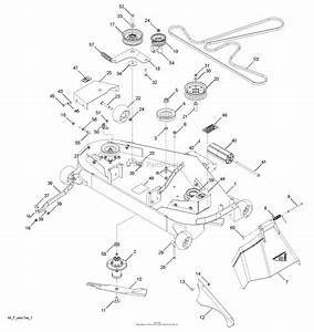 Wiring Diagram  31 Husqvarna 48 Mower Deck Belt Diagram