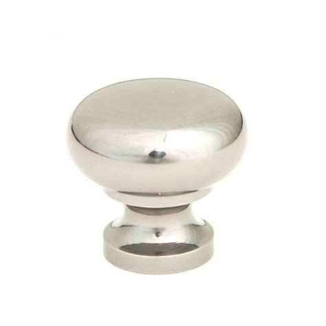 round chrome cabinet knobs giagni 1 1 4 in polished chrome round cabinet knob kb 6br