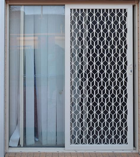 sliding security screen doors