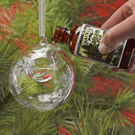 snowflake bubble ornament essential oil diffuser
