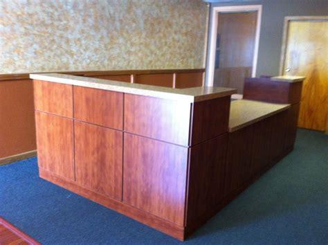 custom reception desk custom made reception desk by pascal s workshop