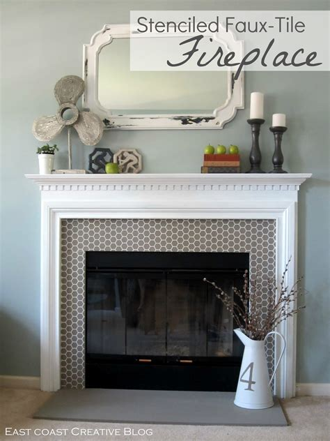 painting a fireplace how to paint a fireplace infarrantly creative