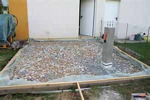 Dalle Pour Abri De Jardin : beautiful dalle de beton abri de jardin ideas design ~ Dailycaller-alerts.com Idées de Décoration