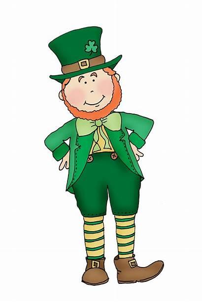 Leprechaun St Patricks Clip Patrick Saint Clipart