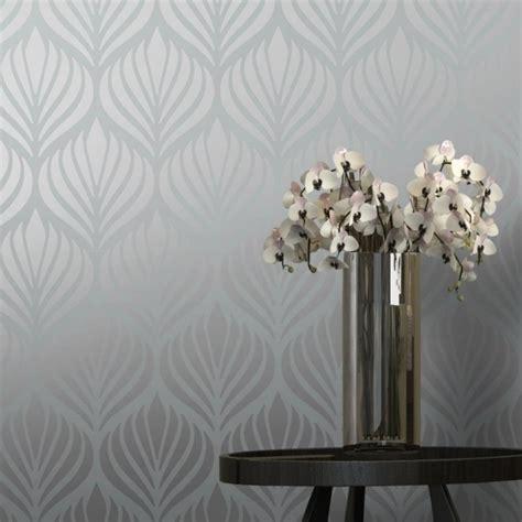 shimmer desire wallpaper grey silver  wallpaper