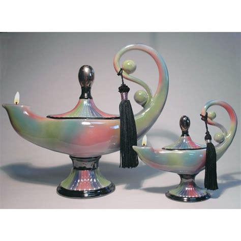 NUHA Genie Of KNOWLEDGE Ceramic Oil Lamp Small Inch