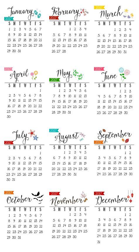 printable  calendar clean  scentsible