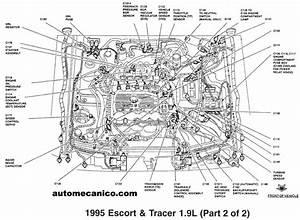 Ford Mercury Aspire Probe Contour Sensores Y Componentes