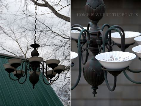 chandelier bird feeder savvy southern style my favorite room home is where