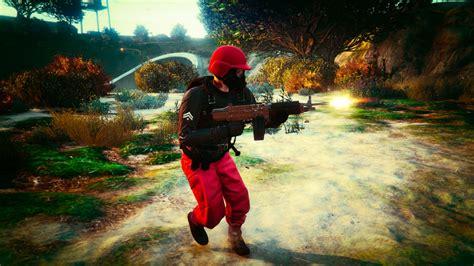 Gta 5 Online Freemode Base War 5 Tryhard Trash Lzzz Youtube