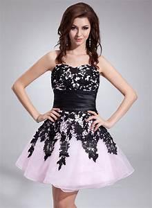 forme princesse bustier en coeur court mini organza robe With forme de robe