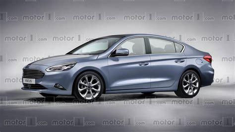 Ford Sedans 2020 by 2019 Ford Focus Sedan Render Proposes More Upscale Design