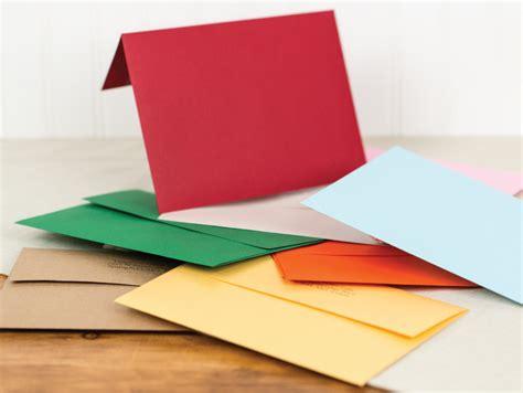 colored envelopes flat folded shaped cards black river imaging