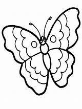 Butterfly Coloring Pages Butterflies Printable Stpetefest sketch template