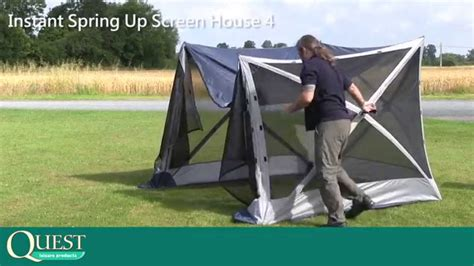 Instant Screen Room Pop Up Tent & Pop Up Screen Room With