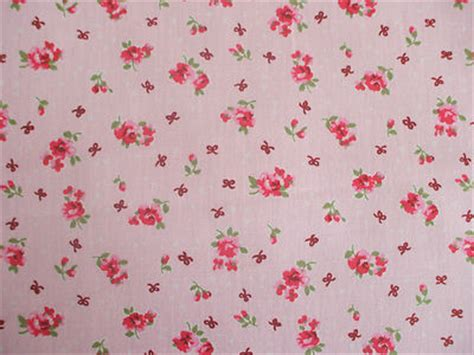 shabby chic fabric uk rose floral100 cotton fabric shabby chic vintage retro per metre pink no2