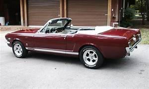 1966 FORD MUSTANG CONVERTIBLE - 15370