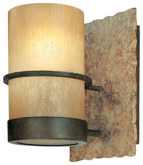 troy lighting bamboo wall sconce 1 light rustic
