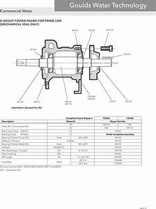 545079 4 Goulds Marlow Series Prime Line Repair Parts