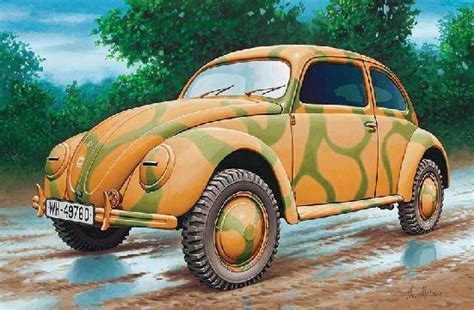 Revell Germany Military 1/35 Volkswagen Type 82e German