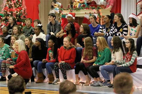 ernest ward middle school presents annual christmas
