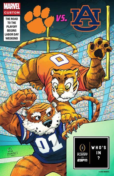 marvel draws comic book covers  promote alabama usc