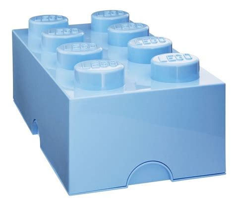 acheter moins cher bo 238 te rangement enfant 8 plots bleu ciel lego