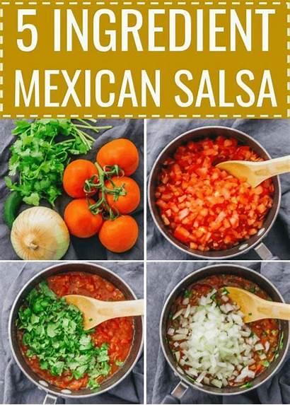 Salsa Mexican Recipe Recipes Ingredients Fresh Tomato