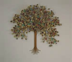 tree of metal wall metal wall sculpture home decor