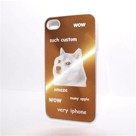 doge phone hilarious golden doge meme aluminum phone cover for