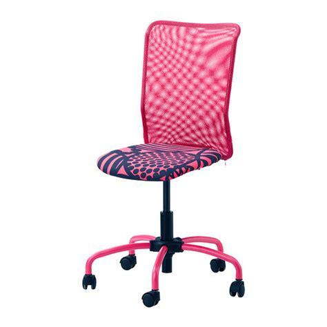 Chaise De Bureau Fuchsia Fly by Torbj 214 Rn Swivel Chair Kvarnatorp Pink Ikea