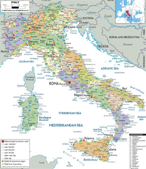 map  italy  cities map  italy