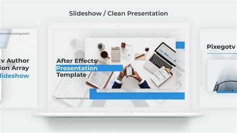 templates after effects free video e slideshow slideshow clean presentation after effects templates