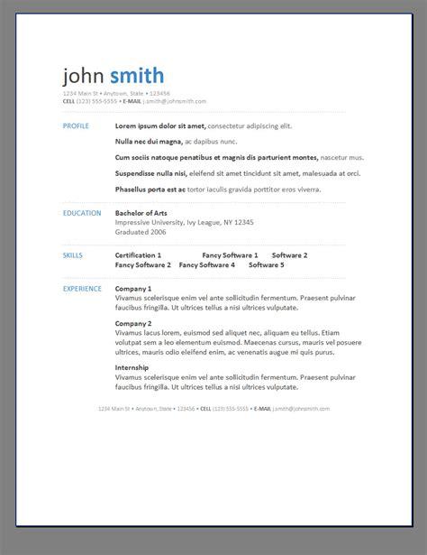 free resumes templates e commercewordpress