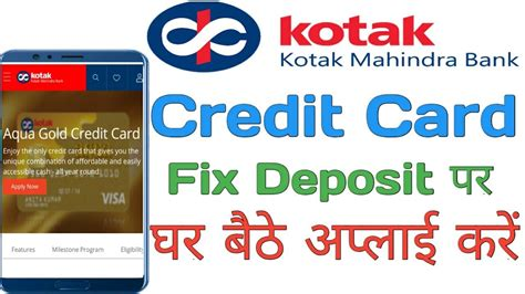 Some instant approval credit cards have the additional benefit of earning rewards, which can help you accumulate redeemable points, miles, and even if you have bad credit, you still have options to apply for a new credit card that could give you instant approval and may even issue you a card. Kotak Bank Instant Approval Fd Credit Card Apply Online   Kotak Bank Credit Card Online - YouTube