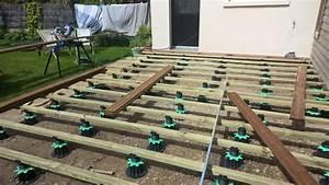 nivremcom poser terrasse bois sur plot beton diverses With poser terrasse bois sur plot