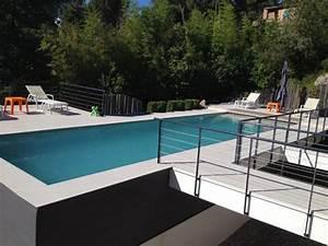 Beton Ciré Piscine : piscines marinal piscine traditionnelle en b ton monobloc ~ Melissatoandfro.com Idées de Décoration